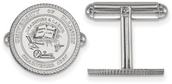 Sterling Silver University of Illinois Crest Cuff Links by LogoArt