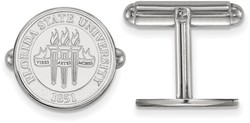Sterling Silver Florida State University Crest Cuff Links by LogoArt