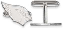 Sterling Silver LogoArt NFL Arizona Cardinals Cufflinks