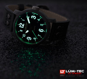 It's time to experience the ultimate wristwatch -- Lum-Tec