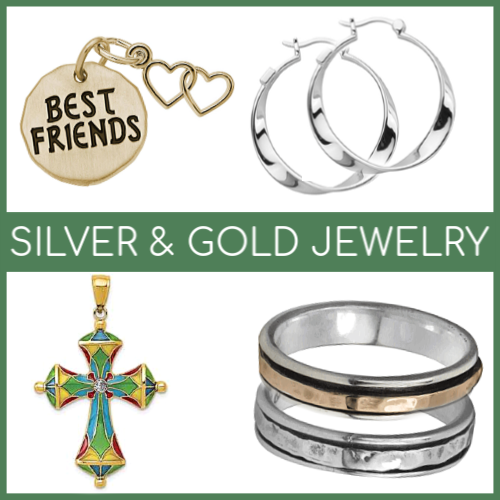 Shop Silver and Gold Jewelry