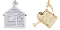Home and Garden Engravable Rembrandt Charms