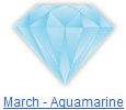 Aquamarine birthstone jewelry at BillyTheTree Jewelry