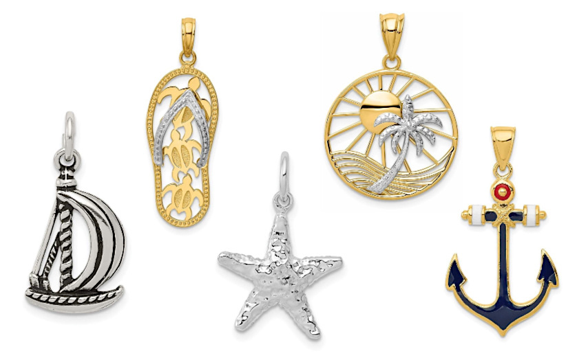Beach & Nautical Pendants