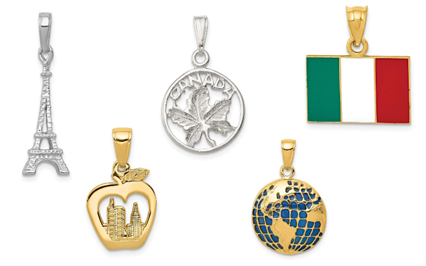 Travel Pendants