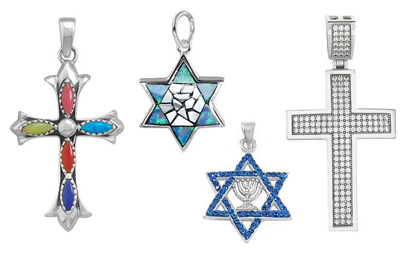 Religious Sterling Silver Pendants