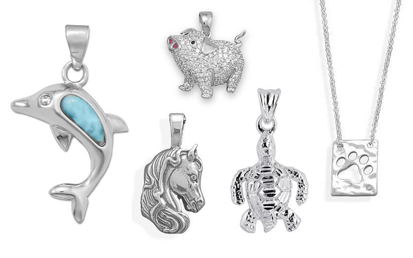 Animal Sterling Silver Pendants