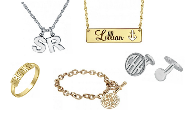Personalized Jewelry with free engraving