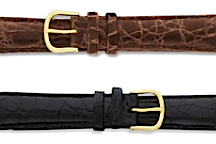 Genuine Crocodile Leather Watch Bands