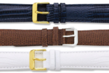 Lizard Style Leather Watch Bands