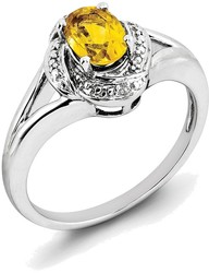 CM-RM908-12 10k Yellow Gold Oval Blue Topaz And Diamond Ring