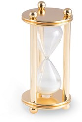 Gold-plated 5 Minute Sand Timer