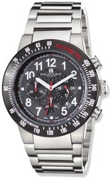 Charles Hubert Stainless Steel Black Dial Chronograph Watch XWA4255