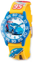Disney Kids Cars Raoul Acrylic Time Teacher Watch