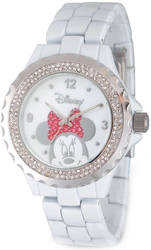 Disney Adult Size Minnie Mouse Crystal Watch