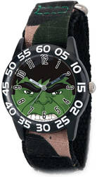 Marvel Hulk Camo Strap Acrylic Time Teacher Watch
