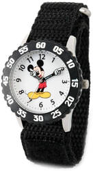 Disney Mickey Mouse w/ Moving Arms Time Teacher Watch