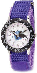 Disney Kids Vampirina Purple Strap Time Teacher Watch XWA5794
