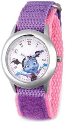 Disney Kids Vampirina Purple Strap Time Teacher Watch XWA5796