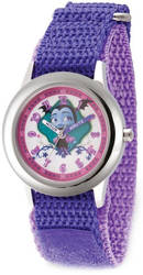 Disney Kids Vampirina Purple Strap Time Teacher Watch XWA5797