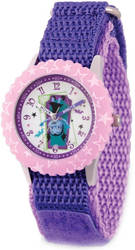 Disney Kids Vampirina Purple Strap Time Teacher Watch