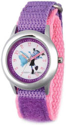 Disney Kids Vampirina & Demi Purple Strap Time Teacher Watch
