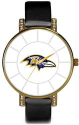 NFL Baltimore Ravens Lunar Watch by Rico Industries