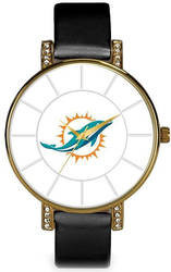 NFL Miami Dolphins Lunar Watch by Rico Industries