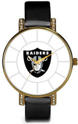 NFL Oakland Raiders Lunar Watch by Rico Industries