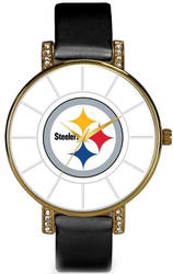 NFL Pittsburgh Steelers Lunar Watch by Rico Industries