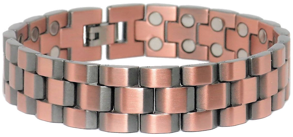 Copper Treads - SOLID Copper Magnetic Link Bracelet