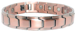 Embed - SOLID Copper Magnetic Link Therapy Bracelet - New!