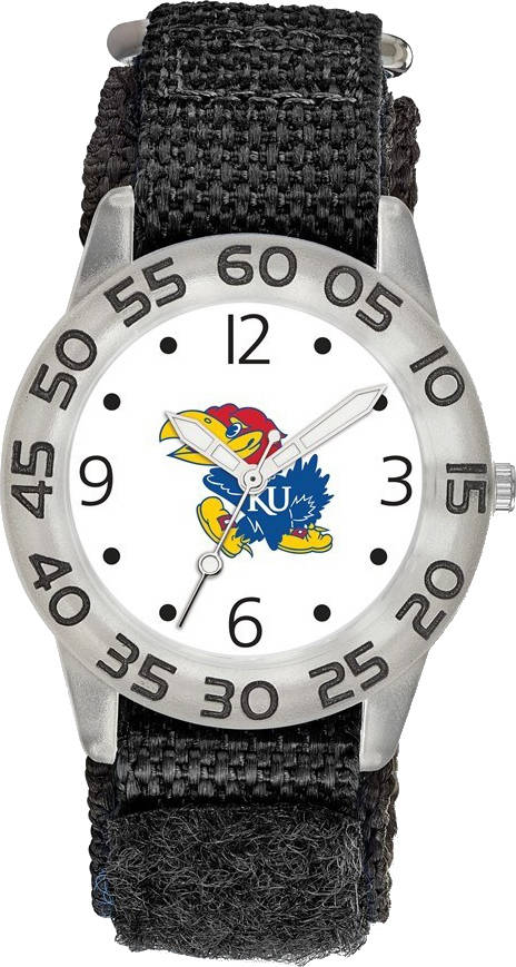 LogoArt University of Kansas Childs Fan Watch