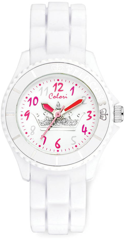 Colori Kids White Crown Princess Watch