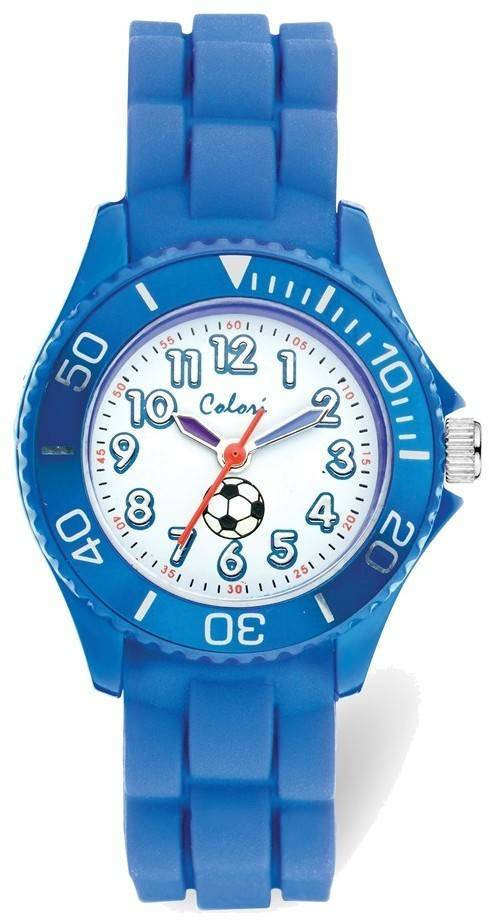 Colori Kids Blue Soccer Watch