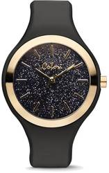 Colori Sparkle Black/Black Glitter 44mm Watch