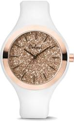 Colori Sparkle White/Pink Glitter 44mm Watch