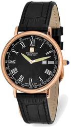 Steinhausen Altdorf Pink Finish Black Dial Black Strap Watch