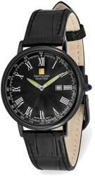 Steinhausen Altdorf Black IP-plated Black Dial Black Strap Watch