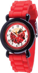 Disney Kids Incredibles 2 Red Band Time Teacher Watch