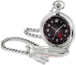 Marvel Spider-man Red Spider Pocket Watch