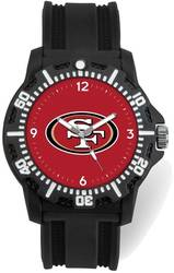 NFL San Francisco 49ers Model Three Watch by Rico Industries