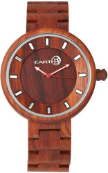 Earth Wood Branch Bracelet Watch - Red