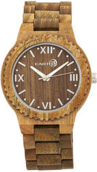 Earth Wood Bighorn Bracelet Watch - Olive