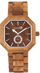 Earth Wood Acadia Bracelet Watch - Olive