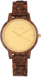 Earth Wood Pike Bracelet Watch - Olive