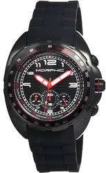 Morphic M25 Series Chronograph Men's Watch - Black