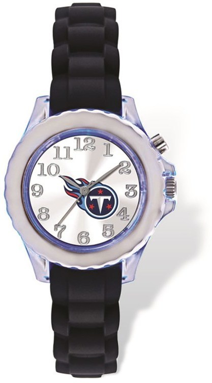 Youth NFL Tennessee Titans Flash Black Strap Watch