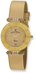 Ladies Jacques du Manoir Gold-tone Strap Watch