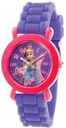 Disney Kids Toy Story Bo Peep Time Teacher Purple Silicone Band Watch